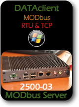 005 CAS 2500-03 Data Client - Modbus RTU and TCP