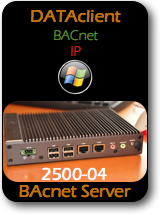 007 CAS 2500-04 Data Client - BACnet IP