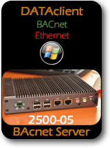 009 CAS 2500-05 Data Client - BACnet Ethernet