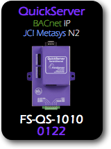 QuickServer, BACnet/IP - JCI Metasys N2