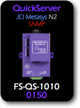 QuickServer, JCI Metasys N2 - SNMP