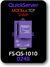 QuickServer, Modbus TCP - SNMP