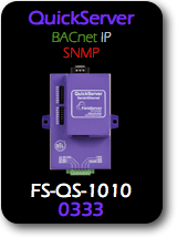 QuickServer, BACnet/IP - SNMP